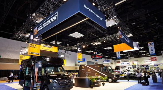 Utilimaster在2020年工作卡车展上推出新型Velocity M3步入式货运货车