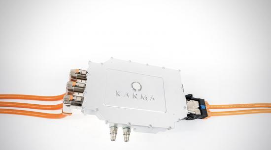 业力汽车公司的新型功率逆变器增强了电动汽车的充电能力
