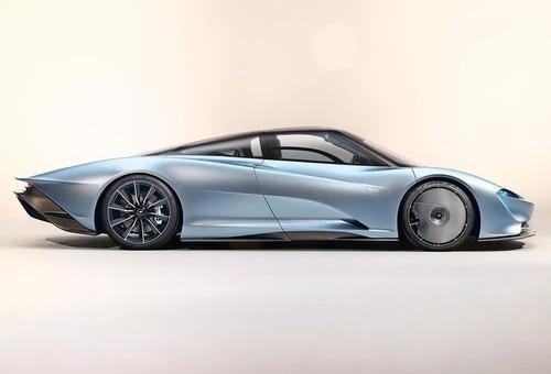 迈凯轮Speedtail在野外发现看起来像飞艇