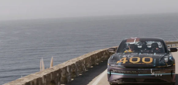 Lucid Motors在加州800英里的公路旅行中采用了原型Air EV